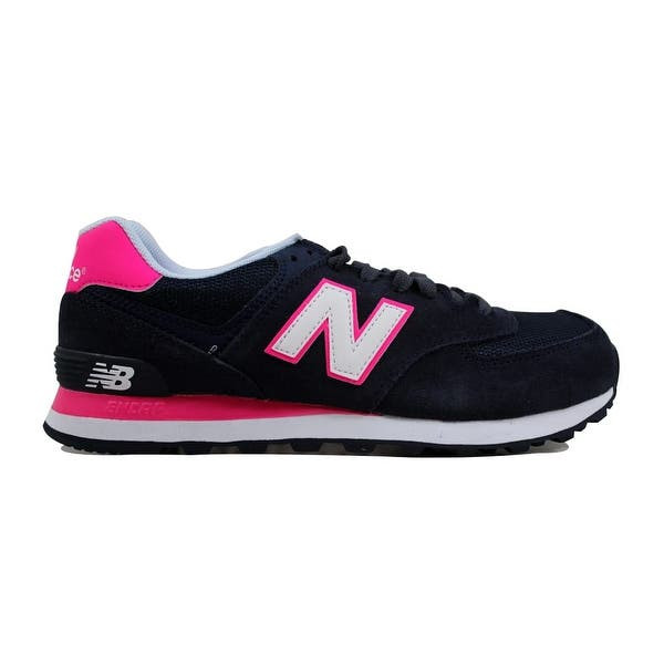 navy and pink new balance