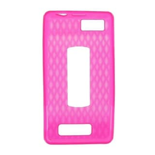 OEM Verizon High Gloss Silicone Case for Motorola Droid X2 MB870 (Pink) (Bulk Pa