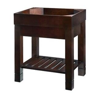 "Ryvyr V-INDUS2-30 30"" Freestanding Wood Vanity Cabinet Only"