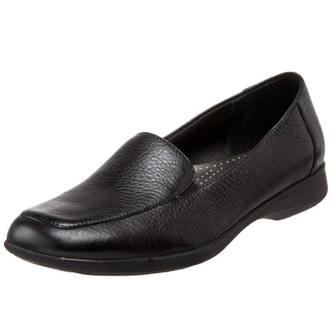 Trotters Womens Jenn Leather Square Toe Loafers
