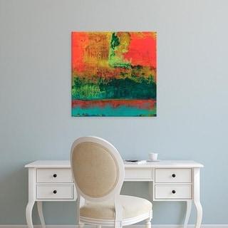 Easy Art Prints Elena Ray's 'Hifi Abstract V' Premium Canvas Art