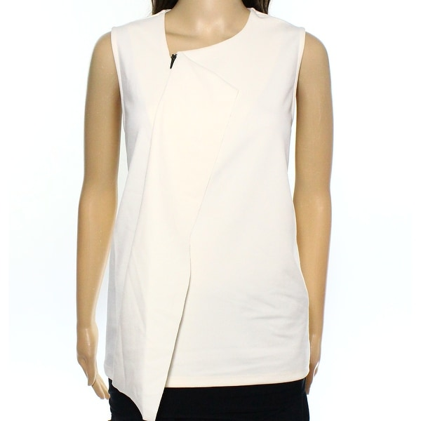203f7f82c5747 Shop Alfani NEW White Ivory Womens Size Large PL Petite Ruffle Tank Top -  Free Shipping On Orders Over  45 - Overstock.com - 17892652