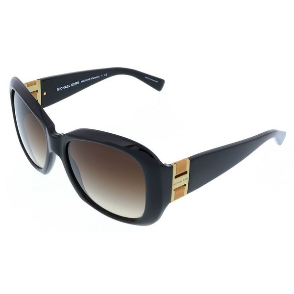 Michael Kors MK2004Q PANAMA 300513 Black Square Sunglasses - 55-17-135