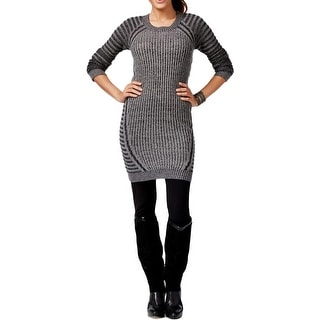 NY Collection Womens Petites Casual Dress Striped Sheath