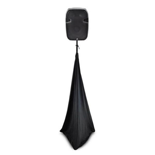 Pyle PSCRIM3B 3 Sided DJ Speaker - Black