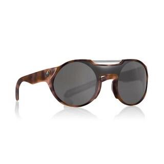 Dragon Alliance Deadball Matte Tortoise Frame with Smoke Lens Sunglasses