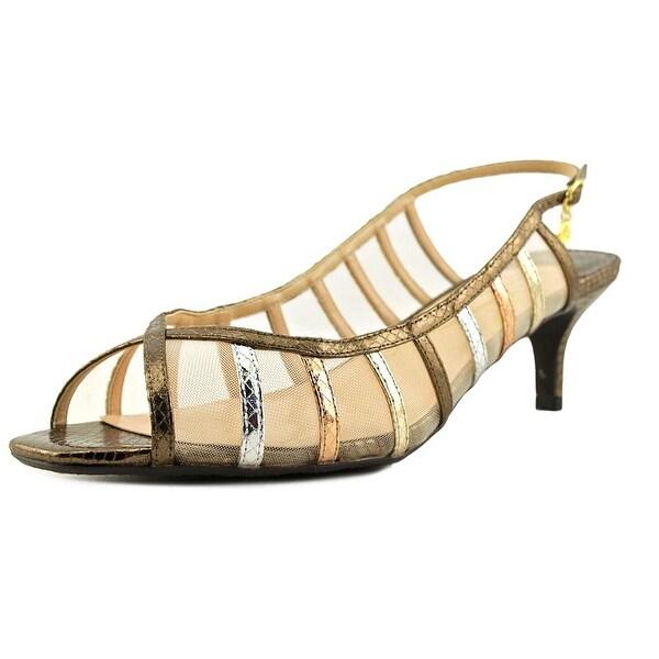 J. Renee Rebeka Women N/S Open-Toe Synthetic Slingback Heel