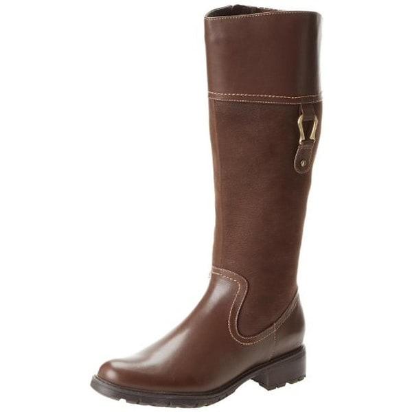 Blondo Womens Vitalia Riding Boots Leather Knee-High