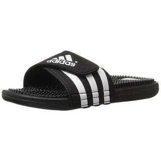 adidas Originals Men's Adissage Slides,Black/Black/White - black/black/white|https://ak1.ostkcdn.com/images/products/is/images/direct/dde950bc823dd8da591c1f9103770c5c2af42747/adidas-Originals-Men%27s-Adissage-Slides%2CBlack-Black-White.jpg?impolicy=medium