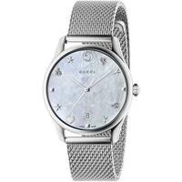 8f5aad68cf7 Shop Gucci Women s Diamantissima Watch - YA141506 - N A - Free ...