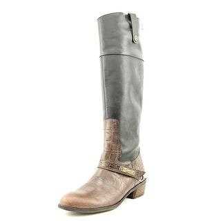 Sam Edelman Juliana   Round Toe Leather  Knee High Boot