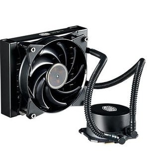 Masterliquid Lite 120 All-In-One Cpu Liquid Cooler With Dual Chamber Pump, Intel/Amd With Am4 Support