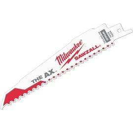 """Milwaukee 5Pk 6"""" Ax Sawzall Blade"""