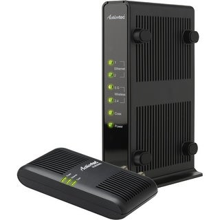 Actiontec WCB3000NK01 Actiontec WCB3000N MoCA Dual-Band Wireless Extender + MoCA Adapter - Retail - 2 x Network (RJ-45) -