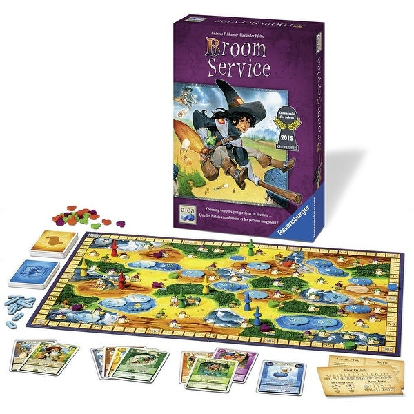 Broom Service - Strategy Game - Multi