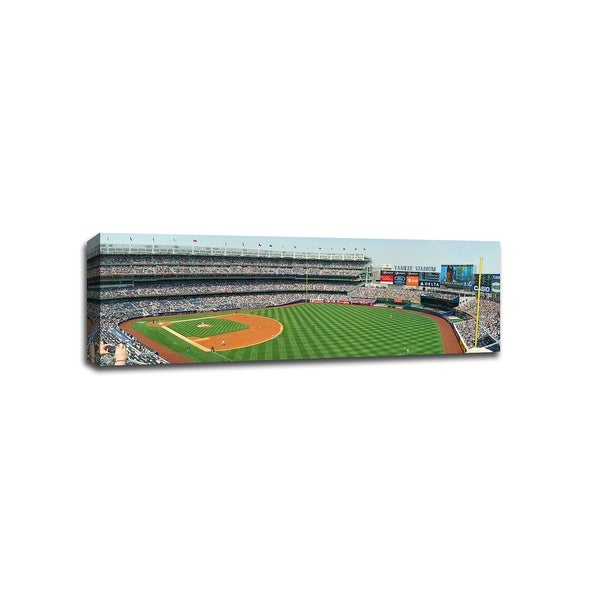 Yankee Stadium, Terrace Level View - MLB - Baseball Field - 36x12 Canvas
