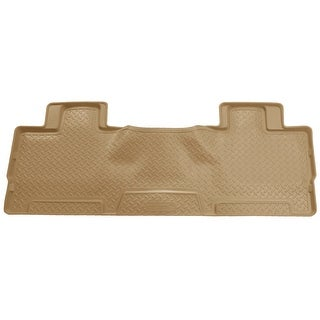 Husky Classic 2007-2014 Lincoln Navigator 2nd Row Tan Rear Floor Mats/Liners