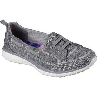 Skechers Women's Microburst Topnotch Walking Slip-On Gray