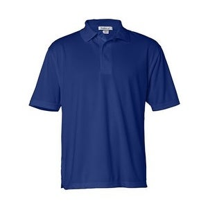 FeatherLite Moisture Free Mesh Sport Shirt - Royal - S