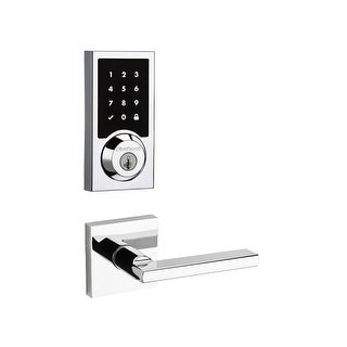 Kwikset 915CNT-HFLSQT-S SmartCode Touchscreen Electronic Deadbolt with Halifax L (2 options available)