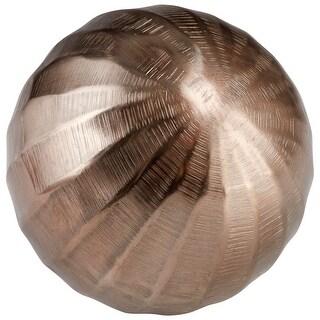 """Cyan Design 08931L  Andromeda 5"""" Diameter Aluminum Decorative Sphere - Bronze"""