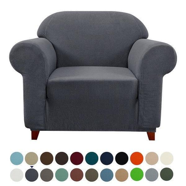 Gray Armchair Chair Slipcover Gold Rush Furniture Cover