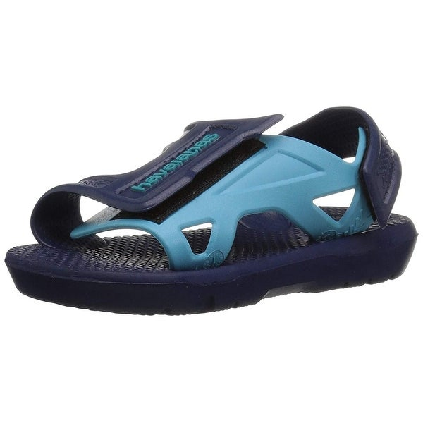 a4fdf76b0c72 Shop Havaianas Kids Move Sandal Navy Blue - Free Shipping On Orders ...