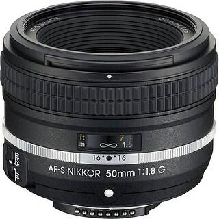 Nikon AF-S NIKKOR 50mm f/1.8G Special Edition Lens (International Model)