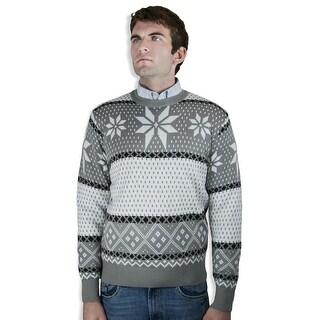 Retro Jacquard Sweater (SW-038)