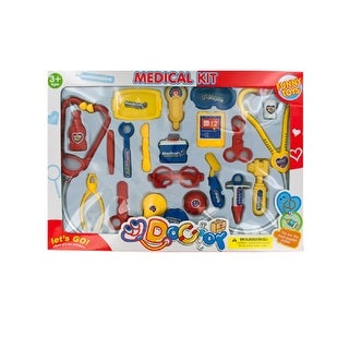 Daily Basic Kids Colorful Play & Learn Set with Medical Tools!