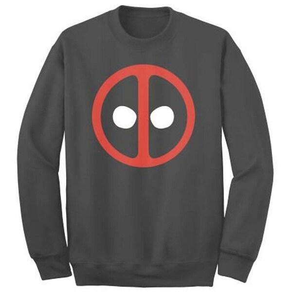 Marvel Deadpool Crewneck Fleece Sweater. Opens flyout.