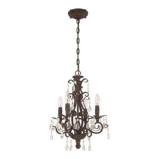 Craftmade 25614 Englewood 4 Light Candle Style Chandelier - 14.38 Inches Wide