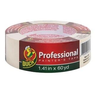 "Duck 1362489 Professional Painter's Tape, Beige, 1.41"" x 60 Yard"