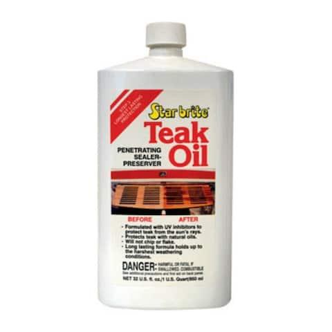 Star Brite 81632 Teak Oil 32 Oz