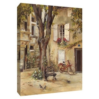 """PTM Images 9-154823  PTM Canvas Collection 10"""" x 8"""" - """"Provence Village I"""" Giclee Houses Art Print on Canvas"""