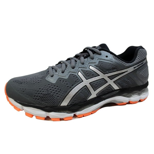 Asics Men's Gel Superion Dark Grey/Silver-Hot Orange T7H2N 9593 Size 10