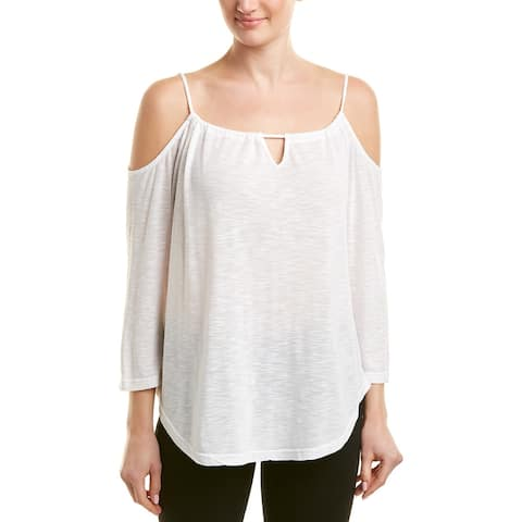 Michael Stars Cold-Shoulder Top