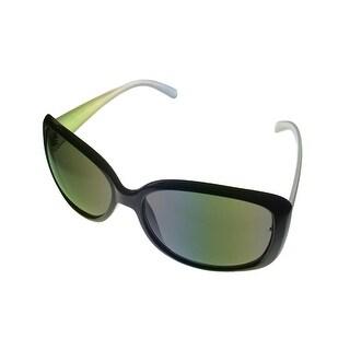 Esprit Womens Sunglass 19306 532 Tortoise Brown Square Plastic, Brown Lens
