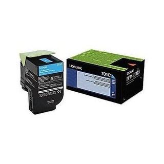 Lexmark 74C0SCG Cyan Toner Cartridge Return Program Standard Yield