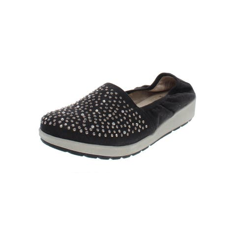 White Mountain Womens Lewis Casual Shoes Studded Wedge