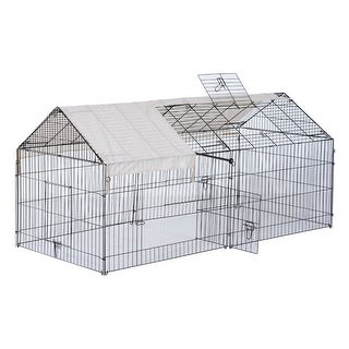 Link to PawHut Outdoor Metal Small Animal Enclosure Similar Items in Dog Containment