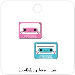 Tiny Tapes - Dooblebug Collectible Enamel Pins 2/Pkg