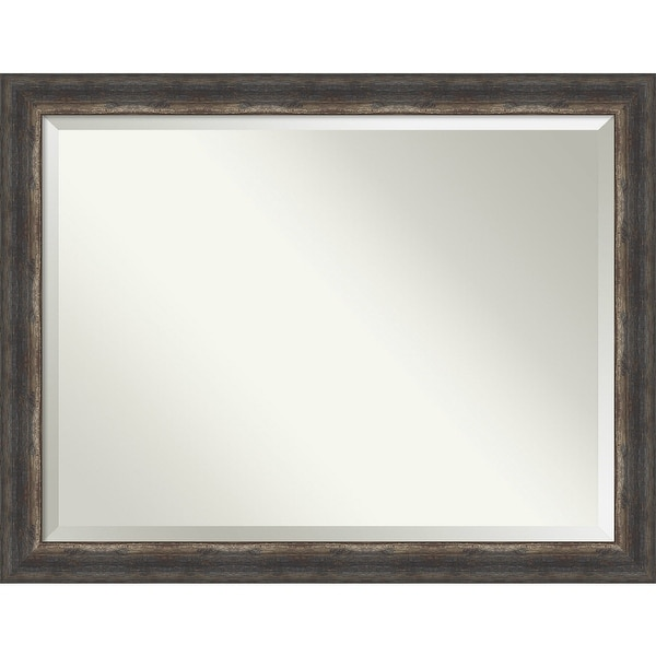 Bark Rustic Bathroom Vanity Wall Mirror. Opens flyout.