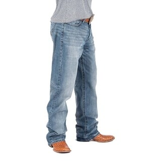 Tin Haul Western Denim Jeans Mens Stitched Blue 10-004-0420-1201 BU