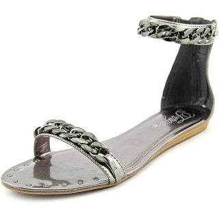 Fergie Grind Open Toe Synthetic Gladiator Sandal