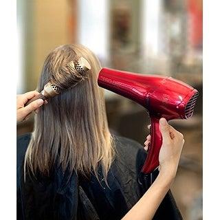 Andis 1875-Watt Professional Pro Dry+ Tourmaline Ceramic Ionic Styling Hair Dryer, Red (81005)