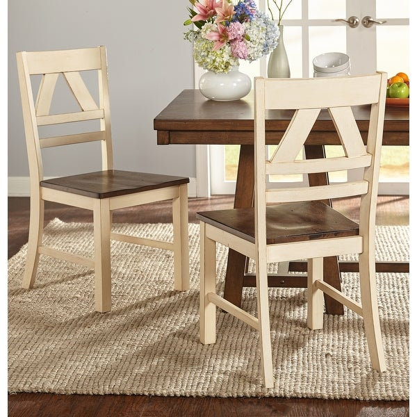 Simple Living Vintner Country Style Dining Chairs (Set of 2). Opens flyout.