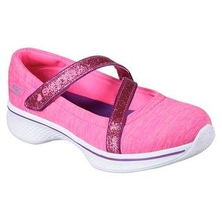 Skechers 81817L NPMT Girl's GOWALK-JERSEY GEMS Walking