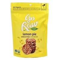Go Raw Sprouted Cookies - Lemon - Case of 12 - 3 oz.
