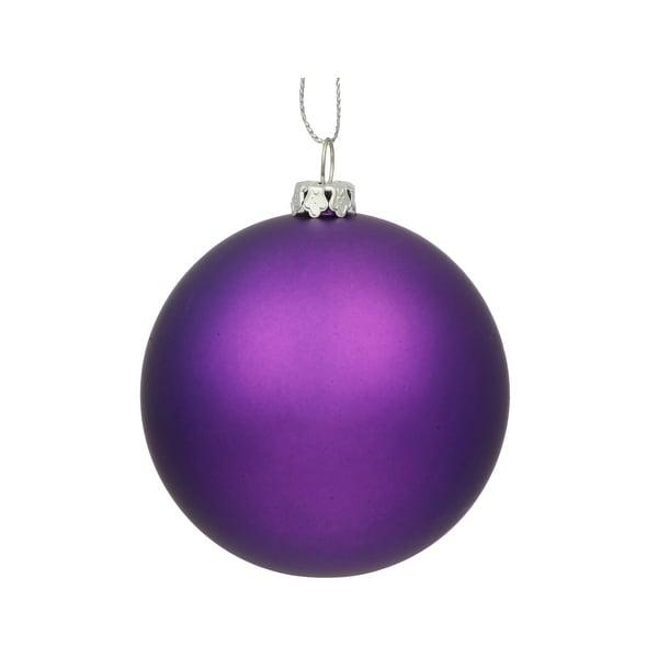 "15.75"" Purple Matte Ball UV Drilled"